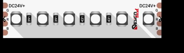 72e1acb5bd567f2d5c19831ae680bc0a 600x174 - Лента светодиодная LUX, 3535, 120 LED/м, 20 Вт/м, 24В, IP33, RGB (K)