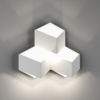 7389486931e62ad5cbdd7a6880c8e9e9 100x100 - Бра декоративное PALMIRA, белый, 9Вт, 3000K, IP20, GW-1101-3-9-WH-WW