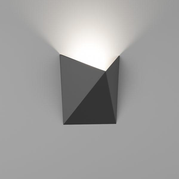 8260c632dfbd8d61e2288f93ea52f313 600x600 - Бра декоративное TANGO, черный, 7Вт, 3000K, IP54, GW-A816-7-BL-WW