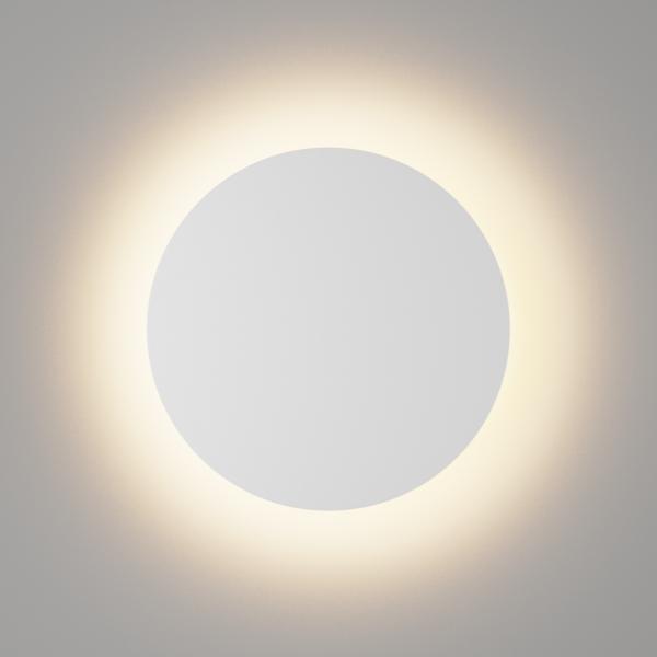 829419791b5db8e8bdb0125388f59916 600x600 - Настенный светильник CIRCUS, мат. белый, 16Вт, 3000K, IP54, GW-8663L-16-WH-WW
