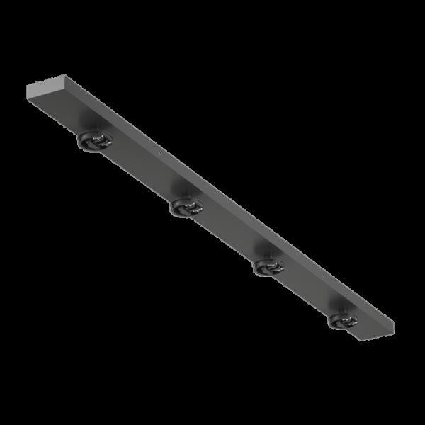 88702d5c0088b2e4477685a501f643bb 600x600 - Крепление сменное М14 для светильников MINI VILLY, поворот. наклад. четверное, цвет черный