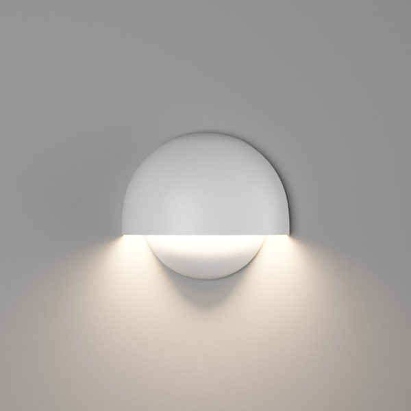 8bd04e5e4ca364a3a8fb8fd4cb13dace 600x600 - Настенный светильник MUSHROOM, мат. белый, 10Вт, 3000K, IP54, GW-A818-10-WH-WW