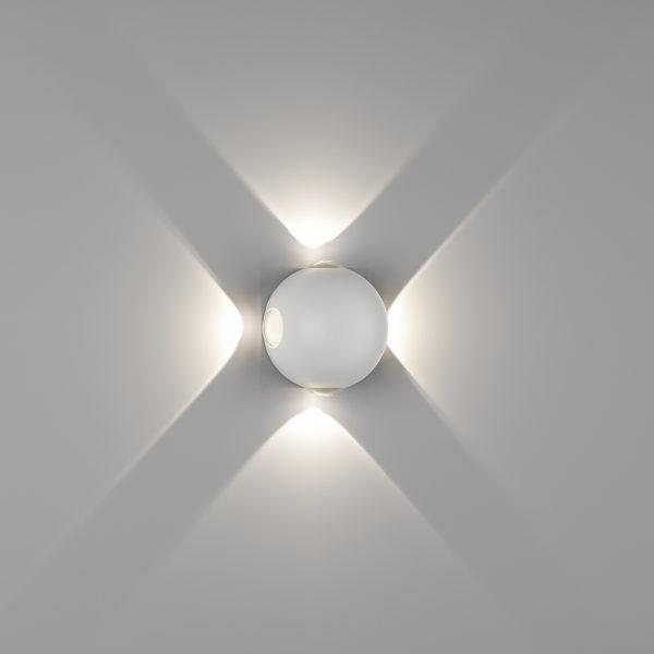 92a5ead5e0e083caad26d3e1e8066ae6 600x600 - Настенный светильник SFERA-DBL, белый, 4Вт, 3000K, IP54, GW-A161-4-4-WH-WW