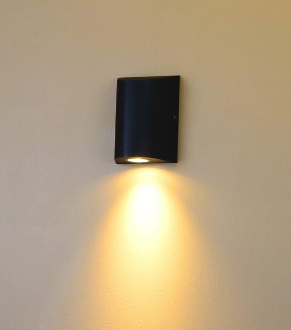 a4b15b2a16764682a6325995f6beb28f 600x681 - Настенный светильник ZIMA, черный, 12Вт, 3000K, IP54, LWA0148A-BL-WW