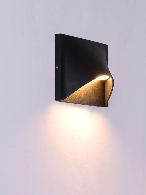 a7722dca805aa113286feb4896ee528c 600x803 - Настенный светильник KONVERT, черный, 9Вт, 3000K, IP54, LWA0029A-BL-WW