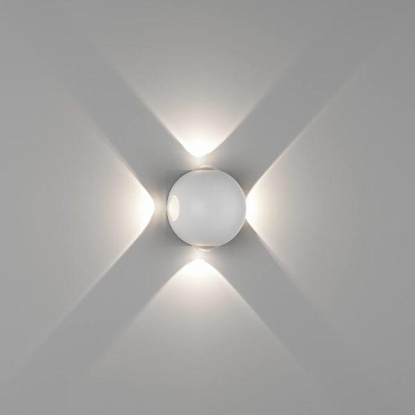 aa85157ecac58c27fdb932bb94ce3378 600x600 - Настенный светильник SFERA-DBL, белый, 4Вт, 4000K, IP54, GW-A161-4-4-WH-NW