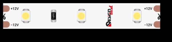aaeba34a2d3f8d0bf2176553dc2570a7 600x147 - Лента светодиодная LUX, 3528, 60 LED/м, 4,8 Вт/м, 12В, IP65, хол. белый (6000K)