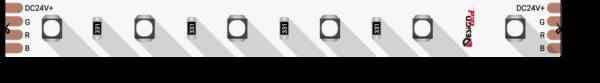 ac95ebd14b2e144d089c5282726a7560 600x83 - Лента светодиодная LUX, 3535, 60 LED/м, 14,4 Вт/м, 24В, IP33, RGB (K)