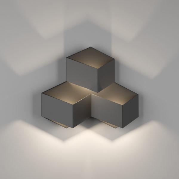 af38879bff1ec7b46924d8873b585881 600x600 - Бра декоративное PALMIRA, черный, 9Вт, 3000K, IP20, GW-1101-3-9-BL-WW