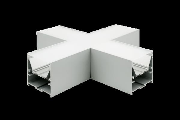 b349afeb9bc40a8fc0508b4b5b207813 600x400 - Угловой X-образный коннектор L9086-X90 для профиля L9086