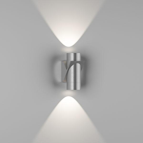 be1b26d3e3a9e09da7754ac0397ce4f5 600x600 - Бра двухстороннее SPRUT, серебряный, 6Вт, 3000K, IP54, GW-A213-6-SL-WW