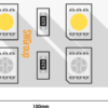 c2dc0389f51a01f1f4880f0b7015fe94 100x100 - Лента светодиодная стандарт 5050, 120 LED/м, 28,8 Вт/м, 24В , IP20, Цвет: RGB+хол. белый