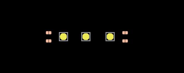 c351394c0dfdd85f10d1852683bb6238 600x239 - Лента светодиодная эконом 5050, 60 LED/м, 14,4 Вт/м, 12В , IP20, Цвет: хол. белый