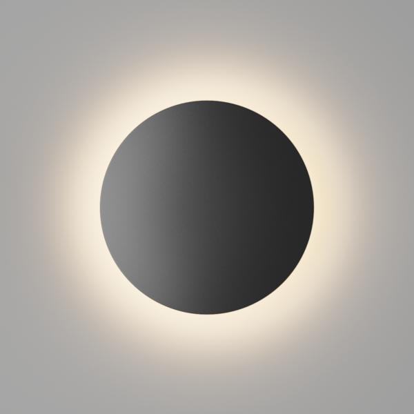 c711a435a8dc2296104a72b4441e5d78 600x600 - Настенный светильник CIRCUS, черный, 6Вт, 4000K, IP54, GW-8663S-6-BL-NW