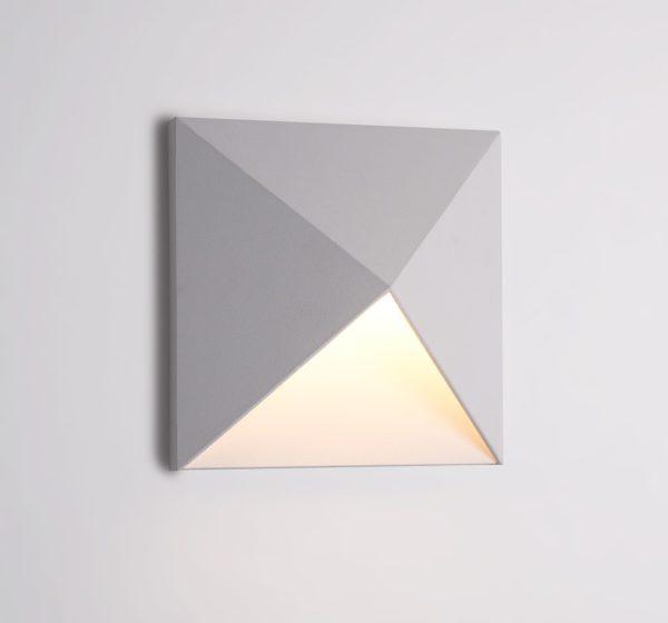 c71307a5085bcb1958ea02a79bd2dc70 600x560 - Настенный светильник KONVERT-SQ, белый, 9Вт, 3000K, IP54, LWA0039A-WH-WW