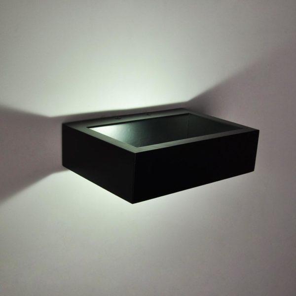 d613103b5fc365ea2173d421d00caca8 600x600 - Бра декоративное FRAME, черный, 10Вт, 3000K, IP20, GW-8110-10-BL-WW