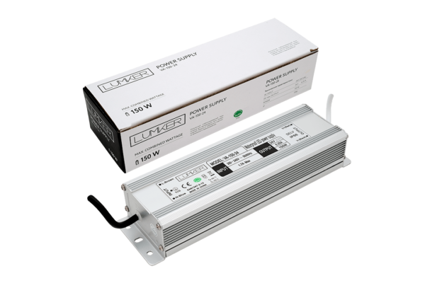 dcb692dd4299905f06162c63eaa0e92a 600x400 - Блок питания для светодиодной ленты LUX влагозащ., 24В, 150Вт, IP67