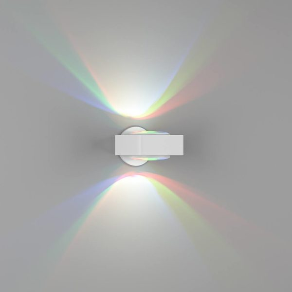 e606043d61ce141a803aad7d45e3e3d5 600x600 - Бра декоративное LINSE, белый, 6Вт, RGBK, IP20, GW-1025-6-WH-RGB