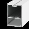 ee7f824469a9032f5ec8ce1f5a22c448 100x100 - Подвесной/накладной алюминиевый профиль LS.4970, белый