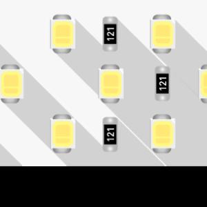 f017d990edc0c57f2d0f6ec8067641e8 300x300 - Лента светодиодная LUX, 2835, 252 LED/м, 24 Вт/м, 24В, IP33, (4000K)