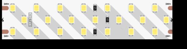 f017d990edc0c57f2d0f6ec8067641e8 600x157 - Лента светодиодная LUX, 2835, 252 LED/м, 24 Вт/м, 24В, IP33, (4000K)