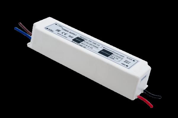 f590ff261feb9d3fe7021e4b39eaa705 600x400 - Блок Питания для ленты IP 67 пластик 100 W, 12V