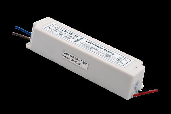 f7b3db85763d795aad9d13a0bdbb35a9 600x400 - Блок Питания для ленты IP 67 пластик 40 W, 12V