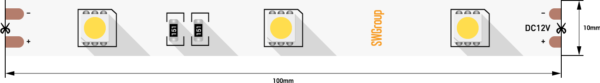 f8589cdfb4ba84370b4052e698b63257 600x83 - Лента светодиодная стандарт 5050, 30 LED/м, 7,2 Вт/м, 12В , IP20, Цвет: Нейтральный белый