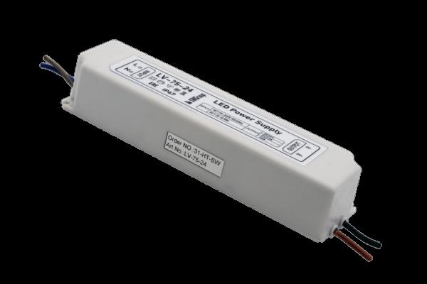fb5ff3987e48d3cea86ffe18692e5f06 600x400 - Блок Питания для ленты IP 67 пластик 75 W, 24V