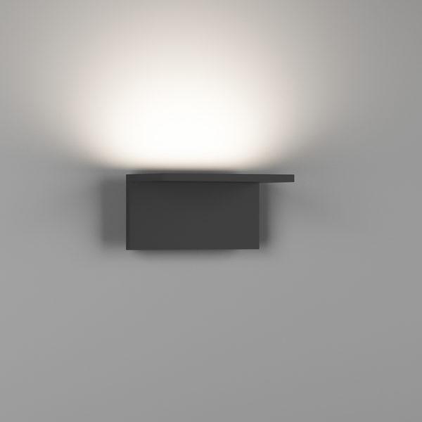 fb96ec8326ccdfa1037c354f4f853450 600x600 - Бра декоративное SKY, черный, 12Вт, 3000K, IP20, GW-6817-12-BL-WW