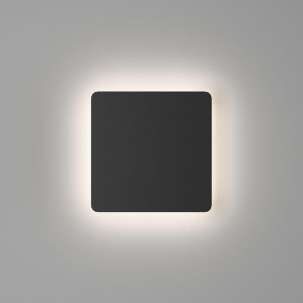 ff02add6ccf525463df07863b1342eb9 600x600 - Настенный светильник RUBIK, черный, 12Вт, 3000K, IP20, LWA807A-BL-WW