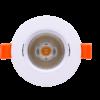 02ee9d1355f51554e4f37d63f8920aa0 100x100 - Светильник светодиодный потолочный встр. накл., DL-KZ, белый, 7Вт, IP20, Теп.белый (3000К)