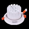 244edf9ef1d533ed1b0311f75d06acb2 100x100 - Светильник светодиодный потолочный встр. накл., DL-KZ, белый, 18Вт, IP20, Теп.белый (3000К)
