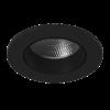 35ceab7c2ffaf87faf2e7249fe8969f9 100x100 - Светильник светодиодный потолочный встр. накл., DL-KZ, черный, 7Вт, IP20, Теп.белый (3000К)