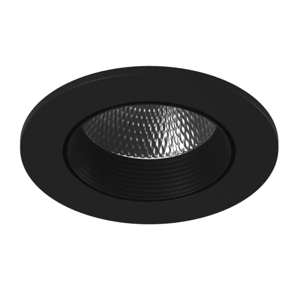 35ceab7c2ffaf87faf2e7249fe8969f9 600x600 - Светильник светодиодный потолочный встр. накл., DL-KZ, черный, 7Вт, IP20, Теп.белый (3000К)