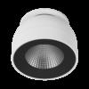 4cd043900e75f708833ce217565a2e61 100x100 - Светильник светодиодный потолочный встр. поворотный, FA, черно-белый, 12,4Вт, IP20, Теп.белый (3000К)