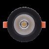 4d114ca6031f055cd8f9d007f41411e0 100x100 - Светильник светодиодный потолочный встр. накл., DL-KZ, черный, 12Вт, IP20, (4000К)