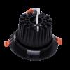 4fee764cf194060d361e8b3529da16bf 100x100 - Светильник светодиодный потолочный встр. накл., DL-KZ, черный, 18Вт, IP20, (4000К)