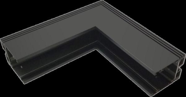 51dff700673483864e2952282e35792f 600x312 - Угловой коннектор настенно-потолочный, черный SY-601902-CN-BL