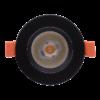 57ab163570f27a52ed368602af014ed7 100x100 - Светильник светодиодный потолочный встр. накл., DL-KZ, черный, 7Вт, IP20, Теп.белый (3000К)