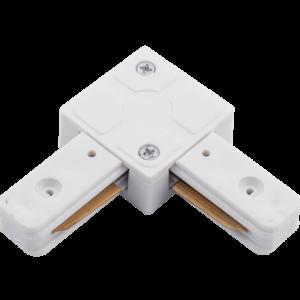 5c97f77493f0e3b6973141258fa74490 300x300 - L коннектор для однофазных трековыx систем, Белый