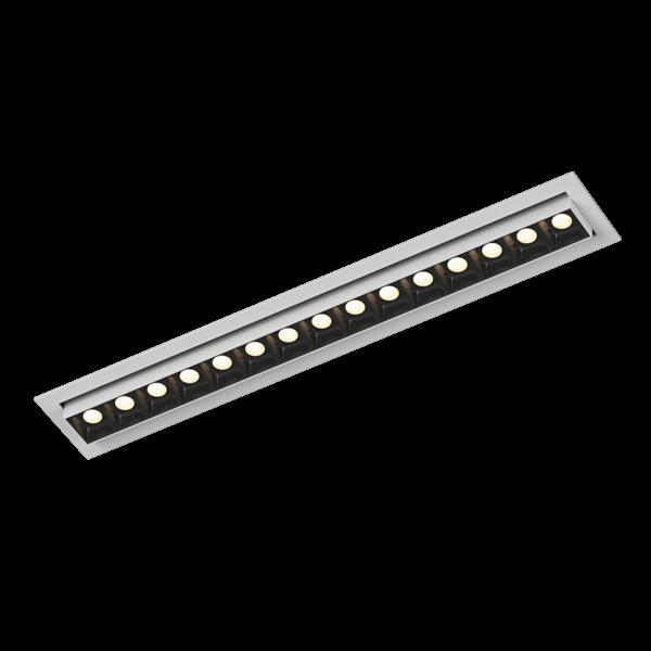 63aa3135d0b621092e7e294b1386d8a2 600x600 - Светильник светодиодный диммируемый потолочный встр. накл., DL-UM9, белый+черный, 18Вт, IP20, Теп.белый (3000К)