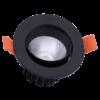 63d8545f87f26aa4b8c7bc60d557a173 100x100 - Светильник светодиодный потолочный встр. накл., DL-KZ, черный, 7Вт, IP20, Теп.белый (3000К)