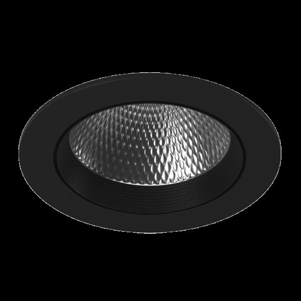 72147f281f00490ce46099cd044b0e77 600x600 - Светильник светодиодный потолочный встр. накл., DL-KZ, черный, 18Вт, IP20, Теп.белый (3000К)