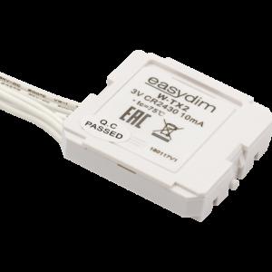 911d97e6be474c04d561cea233896356 300x300 - Радио передатчик W-TX2 для установки за выключателями на 2 зоны