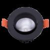 925a378c2ebd63d24f69144366152937 100x100 - Светильник светодиодный потолочный встр. накл., DL-KZ, черный, 7Вт, IP20, (4000К)