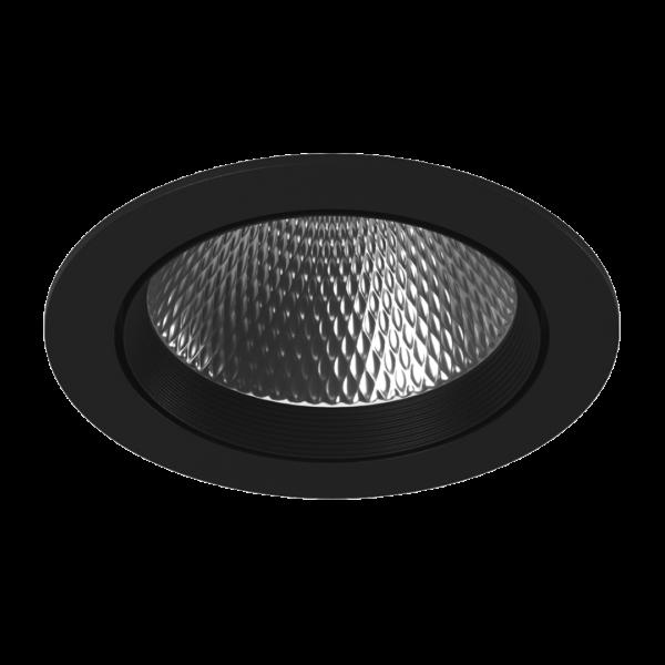 9a2c08316140d20cd3852386854b0f54 600x600 - Светильник светодиодный потолочный встр. накл., DL-KZ, черный, 30Вт, IP20, (4000К)
