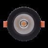 b0b3bf34d11b7772d546d77f76b53e66 100x100 - Светильник светодиодный потолочный встр. накл., DL-KZ, черный, 12Вт, IP20, Теп.белый (3000К)