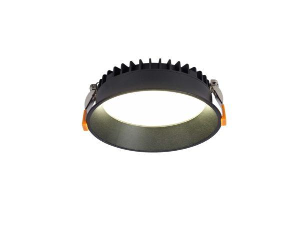 b2f26738fb2417fc2b7591be12c5eca7 600x467 - Светильник светодиодный диммируемый потолочный встр. , WL-BQ, черный, 20Вт, IP20, (4000К)