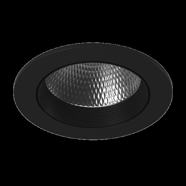 cd27627f622eda3a7d512c07c5f84064 600x600 - Светильник светодиодный потолочный встр. накл., DL-KZ, черный, 12Вт, IP20, (4000К)